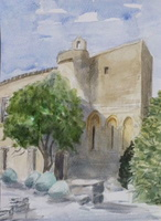 Abbaye St Hilaire, Provence