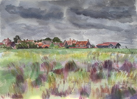 Walberswick across the Marshes